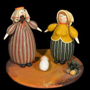 Terracotta tondo - Italia