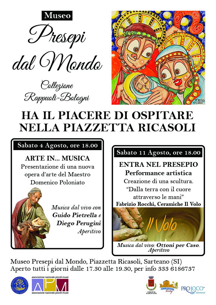 Eventi Agosto 2018 Presepi dal Mondo Sarteano